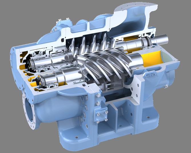 Compressor Blades for Gas Turbine